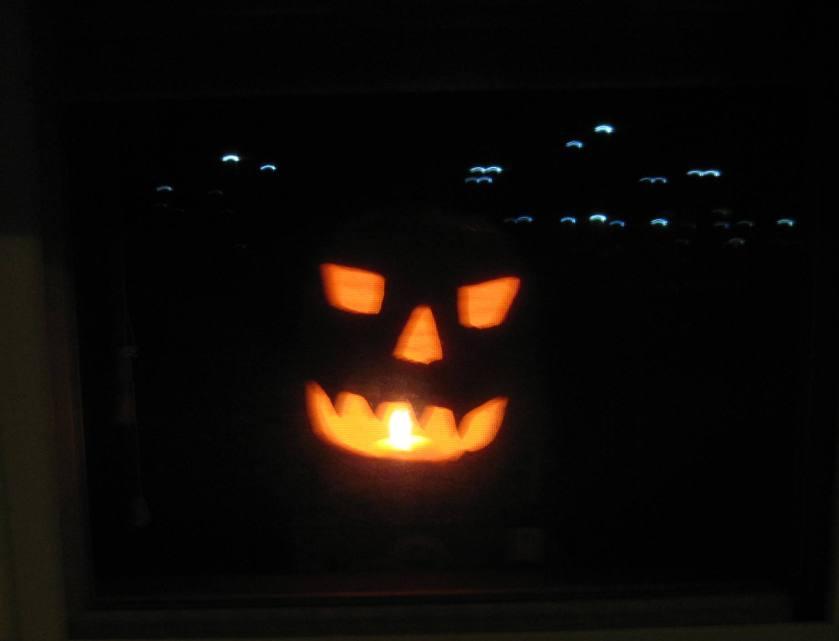 Jack-o'lantern 2012