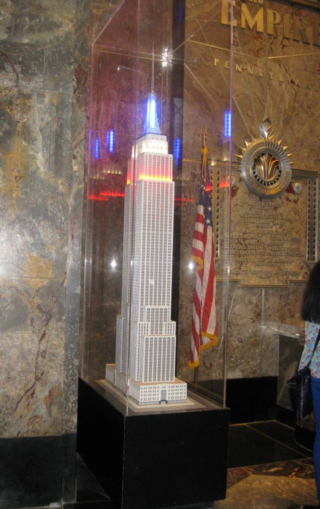 Empire State Building Model Sept. 2012