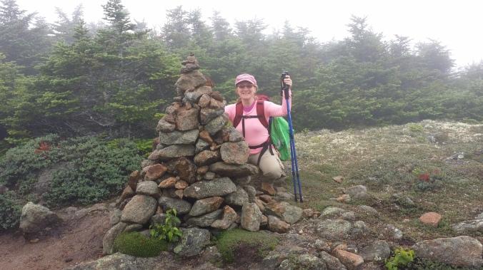 Mt. Pierce summit cairn
