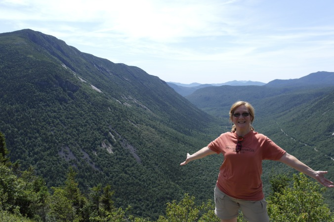 Me at the top of Mt. Willard