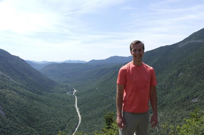 S.O. at the top of Mt. Willard