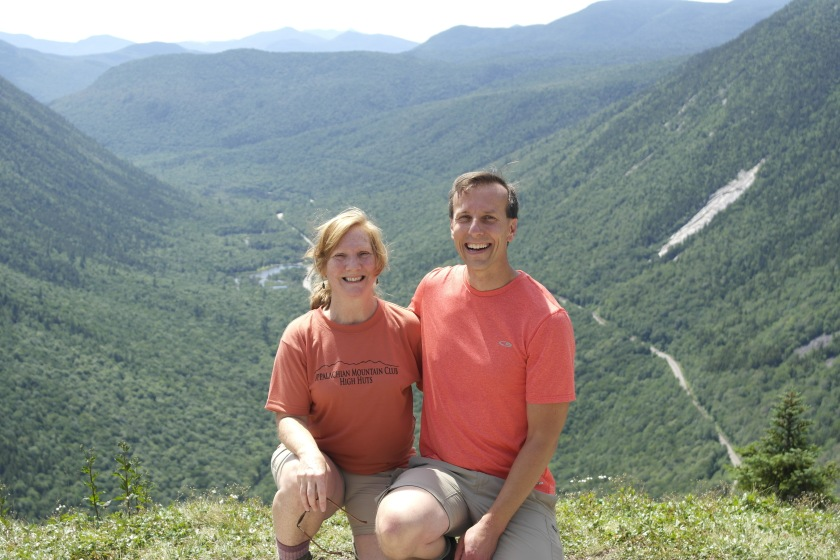 Us on Mt. Willard