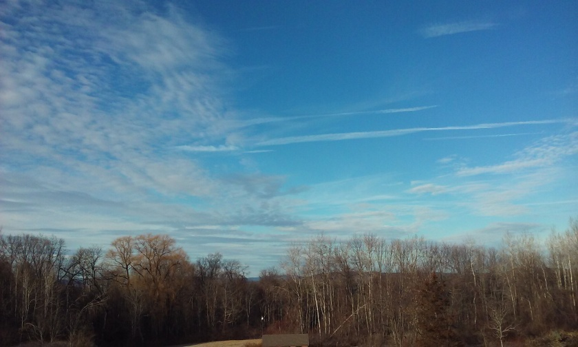 Afternoon Sky Late January 2016