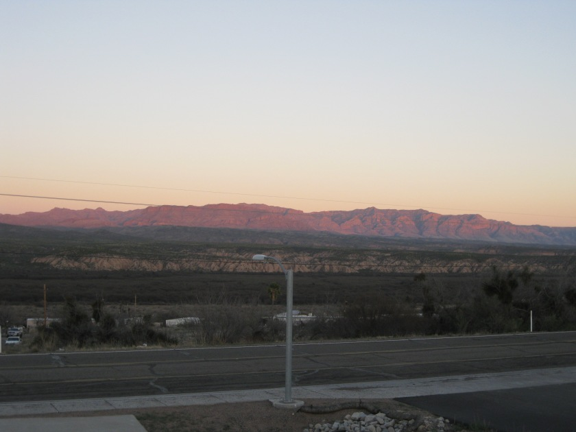 Galiuro Mountain Range